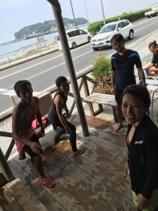 海上がりのミーティング!