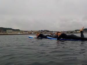 波乗りも大事ですが、 サーフィンの基本パドル、方向転換大事です!